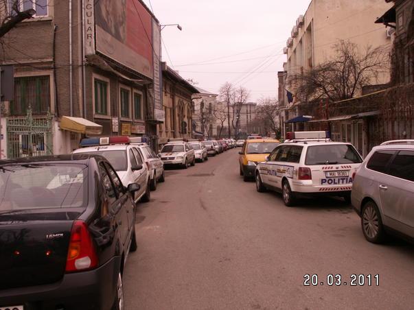 Parcare politie rutiera