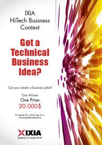 HiTech Business Plan Contest