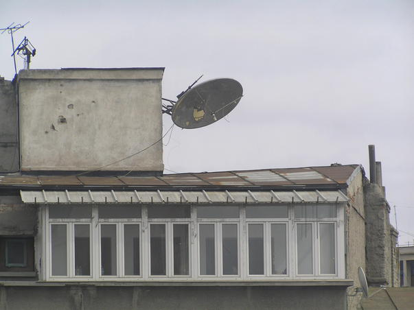 antena in cadere