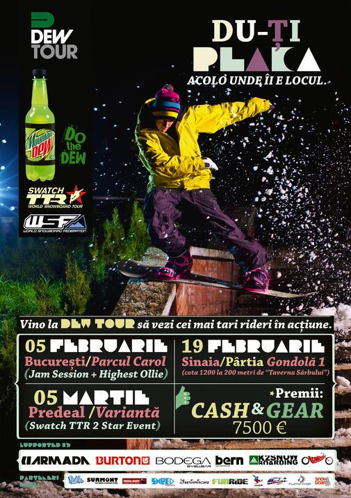 Poster Dew Tour 2011 - Predeal