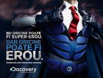 Afisul campaniei Discovery