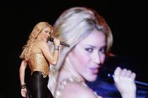 Shakira, interzisa pe Santiago Bernabeu