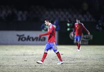 David Villa, pe terenul din Kaunas