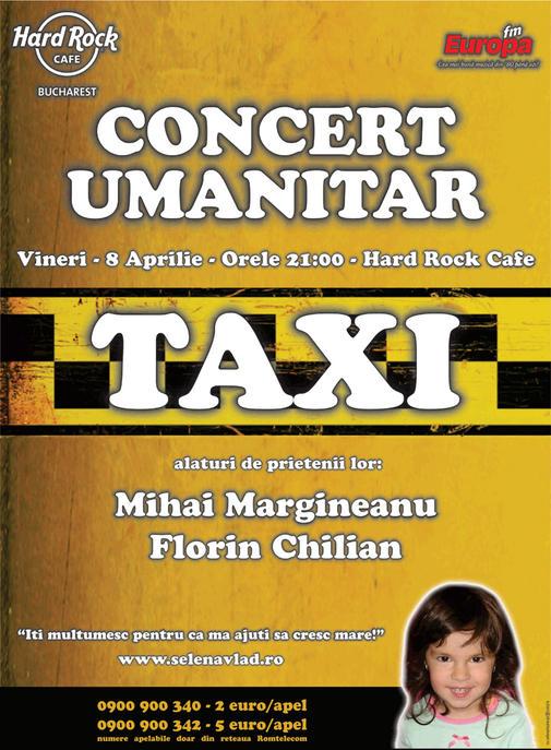 Concert umanitar Taxi