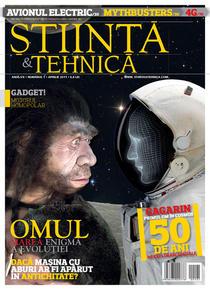 Coperta primului numar nou al revistei Stiinta&Tehnica