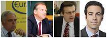 Adrian Severin, Ernst Strasser, Zoran Thaler si Pablo Zalba Bidegain