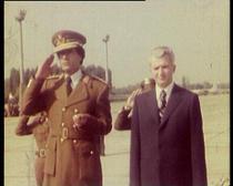 FOTOGALERIE Imagini de arhiva de la intilnirile Ceausescu - Gaddafi