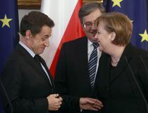 Sarkozy si Merkel pun Europa la cale
