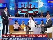 Stancu si Ursu la Antena 3