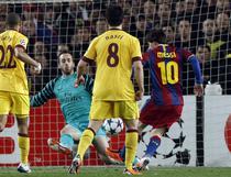 Lionel Messi, evolutie superba contra lui Arsenal