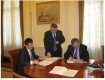 Semnarea contractelor de finantare
