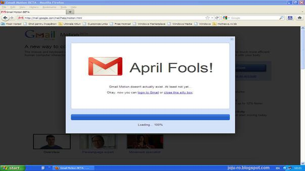 New Gmail Motion - NEW!