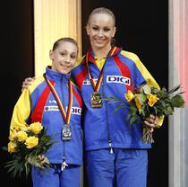 Izbasa si Chelaru, pe podium la Europene