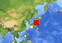 Cutremur in Asia