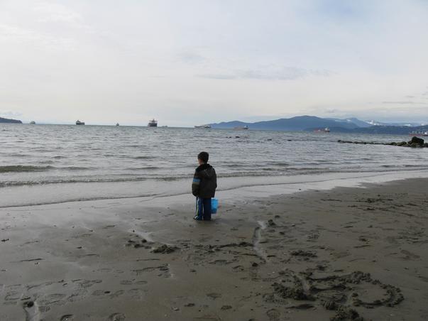 Copilul si marea
