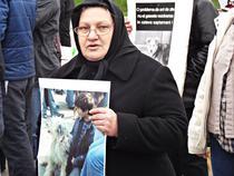 FOTOGALERIE Protest impotriva eutanasierii cainilor comunitari