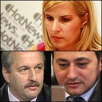 Elena Udrea, Vasile Dancu si Mirel Palada