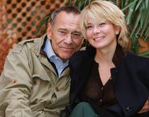Andrei Koncealovski si Iulia Visotkaia