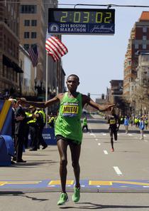 Geoffrey Mutai - record mondial neomologat