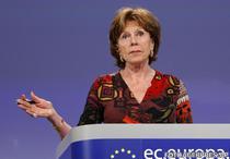 Neelie Kroes, vicepresedinte CE