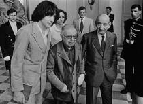 Andre Glucksmann alaturi de Sartre si Raymond Aron