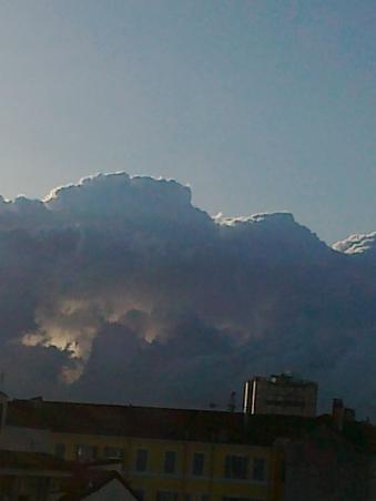 Cateodata si norii sunt transparenti