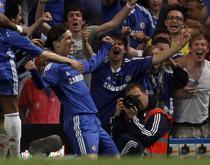 Fernando Torres, la primul gol pentru Chelsea