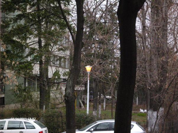 Energie electrica consumata in plina zi pe strada timp de o ora fara lucrari sau ferificari in zona