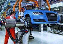 Un Audi, pe liniile de asamblare din Gyor