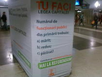 Campanie PDL - Referendum Legea Capitalei