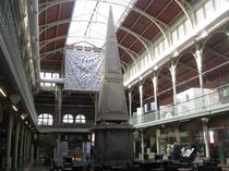 Interior Hala Saint Gery din Bruxelles