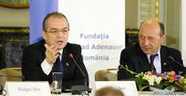 Traian Basescu si Emil Boc (foto arhiva)