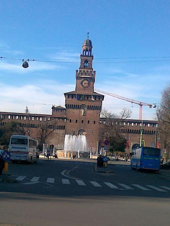 Castelul Scortescu! Milano!