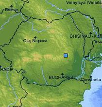 Seism in Romania