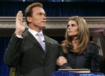Arnold Schwarzenegger si sotia sa, Maria Shriver
