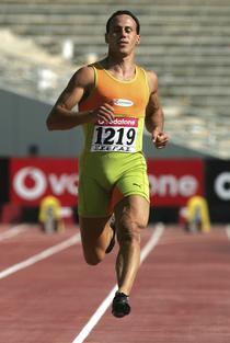 Costas Kenteris, in timpul Olimpiadei de la Atena