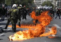 Violente in capitala elena