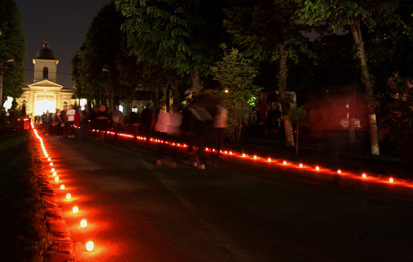 Cimitirul Bellu in noaptea muzeelor