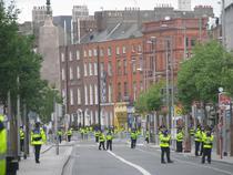 FOTOGALERIE Dublin, sub asediul fortelor de ordine