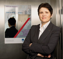 Violeta Ciurel, CEO&President AXA Life Insurance