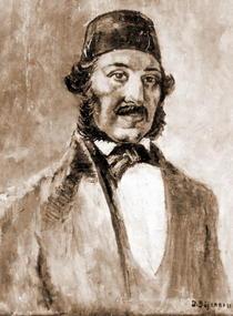Anton Pann (pictat de Dan Bajenaru)