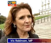 Iris Robinson, MP britanic