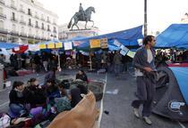 Demonstratii in Spania / Madrid - Puerta del Sol
