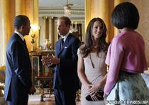 Cuplul Obama alaturi de Printul William si Kate Middleton