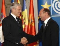 Basescu si Boris Tadic, intr-o intilnire din 2007