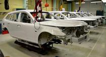 Saab 9-3 ePower pe linia de asamblare