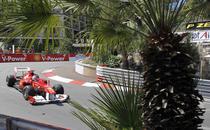 Fernando Alonso, pe circuitul de la Monte Carlo