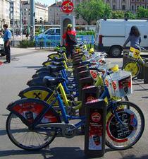 Parcare de biciclete in Viena
