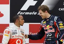 Hamilton, alaturi de Vettel pe podiumul de la Barcelona
