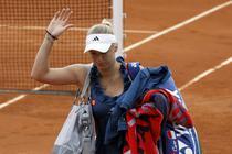 Wozniacki paraseste RG in saisprezecimi